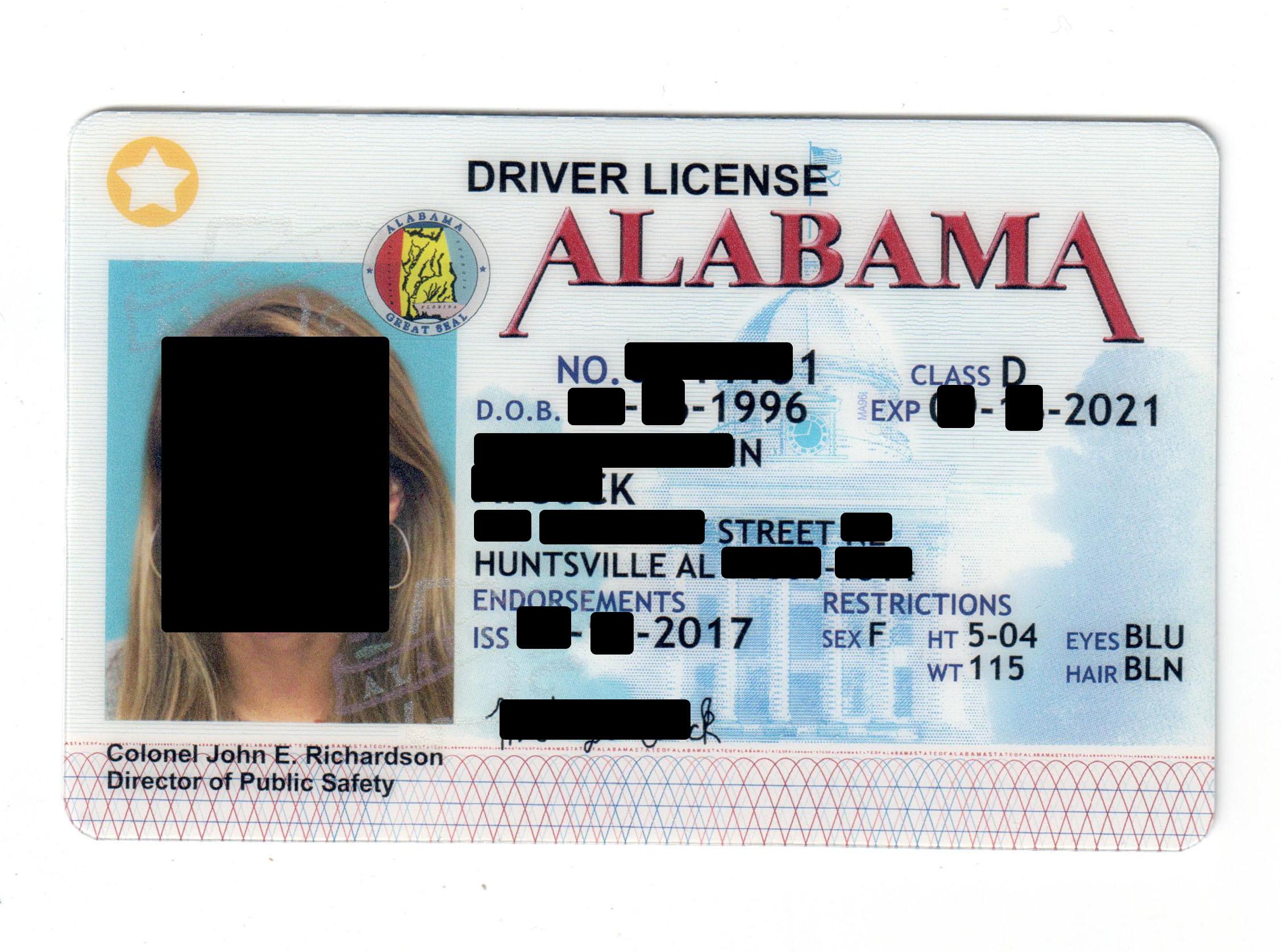 Fake Driving License Free Porn Galery